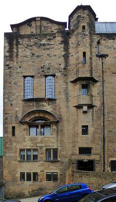 Glasgow School of Art, Charles Rennie Mackintosh. 1899. Glasgow, Scotland
