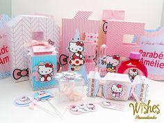 Wishes Personalizados - Decoração para Festas: Festa Hello Kitty