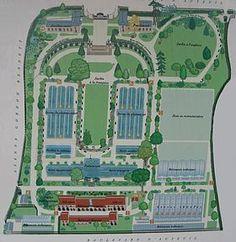 Jardin des serres d'Auteuil in Paris