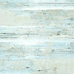 Brushed Wood Wallpaper, Blue, Sample - modern - wallpaper - by Walls Republic