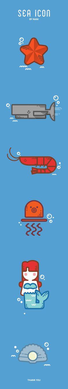 sea icon by me #sea #icon #illust #icon #flaticon