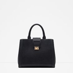 Image 1 of SQUARE CITY BAG from Zara