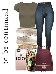 """""""Untitled #112"""" by charming-216 ❤ liked on Polyvore featuring Rolex, Casetify, WearAll and Michael Kors"""