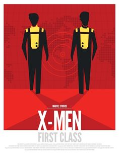 Marvel Movies Poster Series by Dave Williams, via Behance