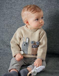 5 Tailles-Naissance à 6 ans BABY-enfant tricoté à la main Noël Pudding Baby Hat