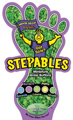 Stepables - ground cover plants website
