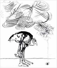 Fly Catcher by Ronald Searle Ronald Searle, Artist Profile, Comic Strips, Illustrators, Character Design, Comic Books, Sketches, Animation, Comics