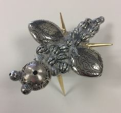 Oliver, dragonfly model, 3 week homework task for the Y7 'Underwater' Project. St Marys Catholic High School.