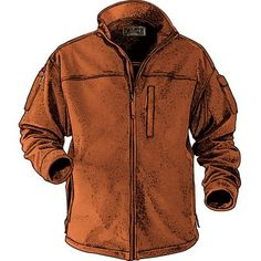 Men's Shoreman's Fleece Jacket $79.50 Clay
