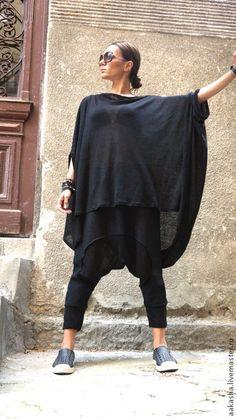 Купить Льняная туника Freestyle - туника, летняя одежда, льняная одежда, льняная туника