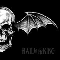 Carátulas de música Frontal de Avenged Sevenfold - Hail To The King. Portada cover Frontal de Avenged Sevenfold - Hail To The King Avenged Sevenfold, This Means War, Rock Poster, Poster Wall, Thing 1, Best Albums, Funny Tattoos, Album Releases, Music Albums