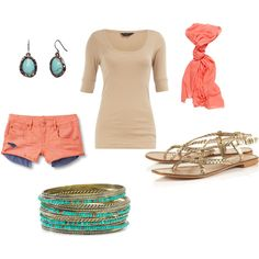 Love this casual summer look!
