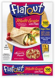 My new favorite guilty pleasure. . just 100 calories for the flatbread!   In my search for meals for under 300 calories I found flatout and recipes to make pizza for under 200 calories!!