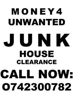 JUNK House Clearance, Typography, Black, Letterpress, Letterpress Printing, Black People, Fonts, Printing
