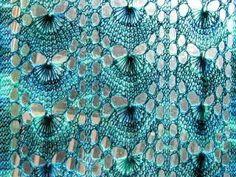 The Shiz-knit!: Shetland Shimmer Scarf