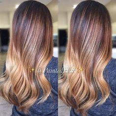 Caramel and Golden Blonde Blend