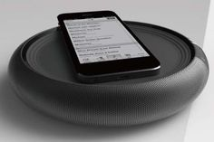 The Circle Bluetooth Speaker with Wireless Charger