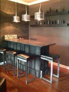 Chicago Project Previous Formal Living Room Now A Wine Bar Area For  Gathering. Interior Perfection