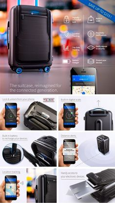 Bluesmart -Smart Suitcase That Change The Way You Travel Securely | TechCinema