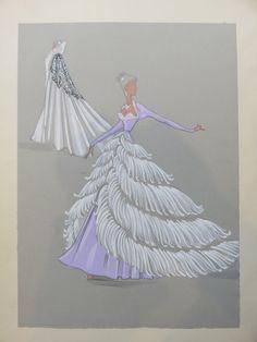 Cabaret, Mode Purple, Disney Princess Fashion, World Tv, Purple Fashion, Fashion Illustrations, Statues, Cinderella, Meet