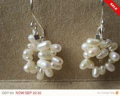 Check out this item in my Etsy shop https://www.etsy.com/listing/203694490/sale-freshwater-pearl-hoop-earrings-hoop