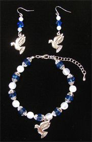 Zeta Phi Beta Sorority Charm Bracelet only $19.99 at www.GreekStuff.com!  (earrings sold seperately)