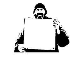 Blank Slate stencil template