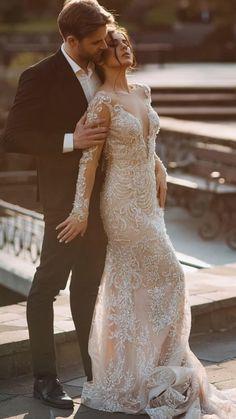 Pretty Wedding Dresses, Lace Mermaid Wedding Dress, Wedding Suits, Designer Wedding Dresses, Bridal Dresses, Wedding Gowns, Dress Lace, Wedding Photos, Fashion Dresses