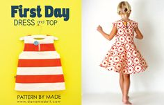 the First Day Dress Pattern is HERE! – MADE EVERYDAY