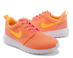 more photos c5c22 0b585 Nike Roshe Run Chaussures De Sport Orange Clair pink orange ventes  spéciales Adidas Shoes