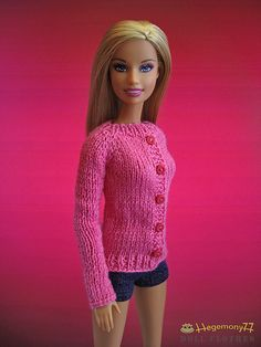 knitted barbie doll clothes - Google Search