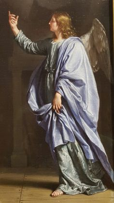 The Angel of the Annunciation (detail)
