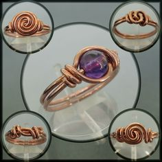 simple wire rings