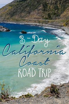"""A visit to California wouldn't be complete without a road trip on the Pacific Coast Highway. This iconic road continues along most of the California coast and can be enjoyed at any pace… whether it's over the course of 1 day or 2 weeks. For the perfect """"sampler platter"""" of sights and activities along this scenic drive, I recommend planning 3 days from Los Angeles to San Francisco. Here are my suggestions for an unforgettable California coast road trip!"""