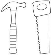 tools to color pictures  constructiontoolscoloringpages013