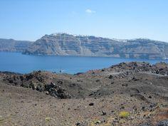 excursion to Nea Kameni Island