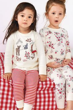 Buy Two Pack Character Appliqué Snuggle Fit Pyjamas (12mths-8yrs) from the Next UK online shop