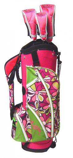 Birdie Babe Golf  - Margaritaville Golf Bag with Matching Headcovers, $189.95 (http://www.birdiebabegolf.com/margaritaville-golf-bag-with-matching-headcovers/)