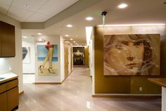 2007 Completed Medical Spa Project by Cynthia C. Spray AIA, via Behance