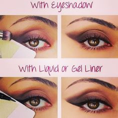Nice tips to the perfect cat eye.