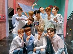 wanna one on the show