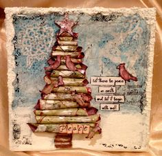 I would love to make this for Christmas... my interests are so drawn to mixed media these days. http://www.weeklyscrapper.com/cha-summer-2012-creative-imaginations