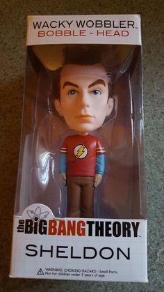 "Funko Wacky Wobbler Big Bang Theory Sheldon ""The Flash"" Shirt 
