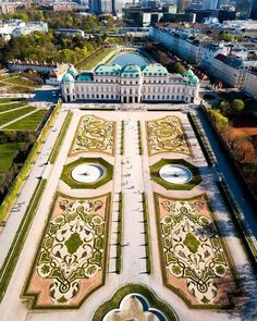 Vienna Austria On Instagram The Belvedere Garden Is One Of Europe S Most Significant Historical Gardens In French Style And Osterreich Wien Osterreich Wien