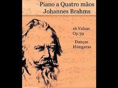 5 - Danças Húngaras para piano a quatro mãos -  (Johannes Brahms)