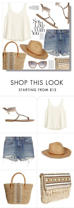 """""""Summer Love"""" by christinacastro830 ❤ liked on Polyvore featuring Alexander Wang, Skemo and Jimmy Choo"""