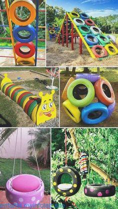 Kids Outdoor Play, Kids Play Area, Backyard For Kids, Backyard Games, Diy For Kids, Kids Outdoor Spaces, Diy Playground, Children Playground, Indoor Playground For Kids