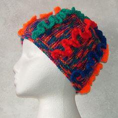 Elena - Hyperbolic knitted hat