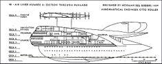 Norman Bel Geddes Airliner No 4 Side