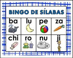 Bingo de silabas